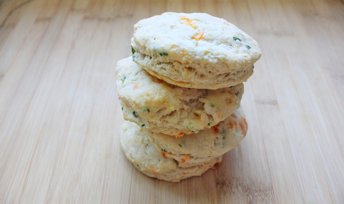 Cheddar and Thyme Scones